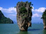 James Bond Island (Ko Phing Kan) Fotografisk tryk af John Elk III