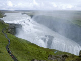 Gullfoss Waterfall on River Hvita Photographic Print by Holger Leue
