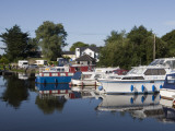 Houseboats on Shannon-Erne Waterway Photographic Print by Holger Leue