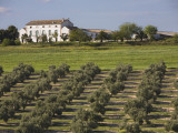 """Cortijo """"La Cerca"""", Andalusian Traditional Country House Inside Giribaile Reservoir Photographic Print by Diego Lezama"""