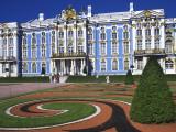 Pushkin Palace, Tsarskoie Selo Photographic Print by Jean-pierre Lescourret