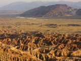 Borrego Badlands from Font's Point Photographic Print by Carol Polich
