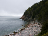 Beach at Middle Head, Cape Breton Highlands National Park, Cabot Trail Near Ingonish Fotografisk tryk af Michael Gebicki