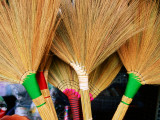 Brooms Detail Photographic Print by Hanan Isachar