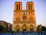 Notre Dame Cathedral at Dusk Photographic Print by Glenn Beanland