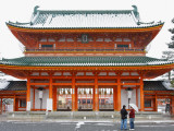 Entrance Gate to Heian Shrine Photographic Print by Frank Carter