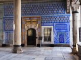 Iznik Tiles Adorning the Circumcision Room at Topkapi Palace Photographic Print by Kimberley Coole
