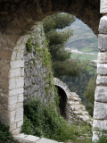 Perimeter Walls of Berat Castle and Valley Below Photographic Print by Patrick Syder