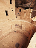 Spruce Tree House Cliff Dwelling Kiva Photographic Print by Stephen Saks