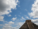 El Castillo, Pyramid of Kukulkan Photographic Print by Sabrina Dalbesio