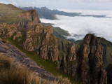 View from Roland's Cave at the Top of Organ Pipes Pass Photographic Print by Ariadne Van Zandbergen