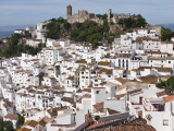 Whitewashed Houses of Casares Photographic Print by Karl Blackwell