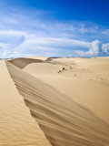 White Sand Dunes Photographic Print by Kimberley Coole