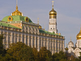 Green Copper Roofs and Golden Domes of Great Kremlin Palace Photographic Print by Tim Makins