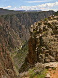 Tomichi Point and Black Canyon in Gunnison National Park Photographic Print by Stephen Saks