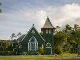 Wai'Oli Hui'Ia Church Photographic Print by Linda Ching