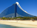 Jumeirah Beach Hotel Photographic Print by Jean-pierre Lescourret