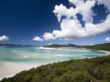 Whitehaven Beach from the Lookout on Whitsunday Island Photographic Print by Tim Barker