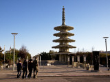 Peace Pagoda in Japantown Photographic Print by Sabrina Dalbesio