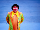 Payasos (Clown) Performing on Plazuela Francisco Goitia Photographic Print by Ryan Fox