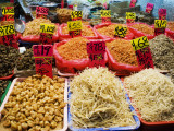 Chinese Vegetables at Market Stall, Causeway Bay Photographic Print by Michael Coyne