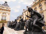Statues Outside Musee D'Orsay Photographic Print by Lou Jones