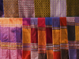 Traditional Handwoven Textiles for Sale Photographic Print by Anders Blomqvist