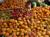 "Fruit at Market ""Mercatino Antignano"" Photographic Print by Karl Blackwell"
