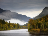 Vallee De La Jacques-Cartier Provincial Park in Early Autumn Photographic Print by Denis Corriveau