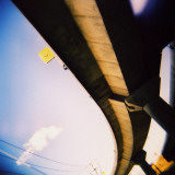 Looking Up at Freeway Over-Pass Photographic Print by David Hannah