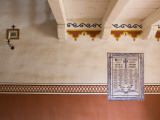 Tiles Noting Names of Early Spanish Settlers at El Presidio De Santa Barbara State Historic Park Photographic Print by Brent Winebrenner