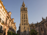 La Giralda Tower at Seville Cathedral Photographic Print by Karl Blackwell