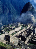 Ruins from Hut of Caretaker of Funerary Rock Photographic Print by Ryan Fox