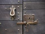 Doorway Detail Fotografie-Druck von Barbara Van Zanten