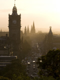 Edinburgh from Calton Hill at Sunset Photographic Print by Karl Blackwell