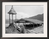Straw-Thatched Chapel Framed Photographic Print