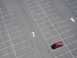Arial of Parked Car Photographic Print by Shayne Hill
