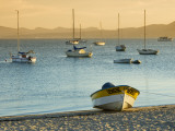 Boats on Beach at Sunrise, Seen from the Malecon Photographic Print by Witold Skrypczak