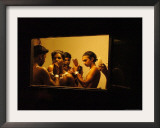 Traditional Artists Get Ready to Perform a Fusion Dance of Kerala Art Forms Framed Photographic Print
