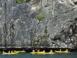 Kayaking at Ang Thong Marine Park Photographic Print by Austin Bush