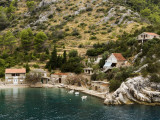 House by Water on North-Eastern Coast of Hvar Near Jelsa Photographic Print by Will Salter