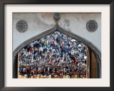 Indian Shiite Muslims Flagellate Themselves During a Procession, Hyderabad, India, January 30, 2007 Framed Photographic Print by Mahesh Kumar