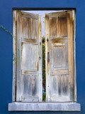 Wooden Shutters, El Presidio Historic District Photographic Print by Richard Cummins