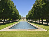 Pond at Main Entrance to Fort Worth Botanic Garden Photographic Print by Stephen Saks