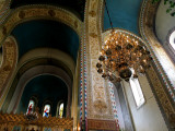 Interior of Saint Alexander Nevsky Cathedral Photographic Print by Manfred Hofer