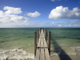 Quindalup Jetty Meeting Horizon Photographic Print by Oliver Strewe