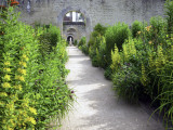 Walled Gardens (Or Chartreuse) at Chateau Canon in Mezidon-Canon Photographic Print by Barbara Van Zanten