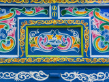 Decorative Traditional Ox-Cart Detail Stampa fotografica di Cummins, Richard