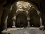 Tomb at Back of Geghard Monastery Complex Photographic Print by Mark Daffey