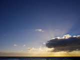 Early Morning Sunlight over Ocean at Whale Beach Photographic Print by Oliver Strewe